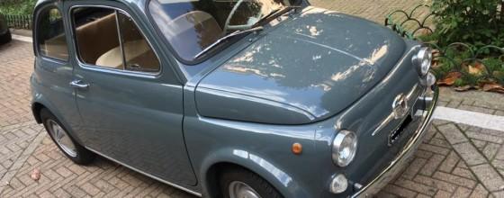 """Fiat 500 F (June 1965) """"8 Bolts"""""""