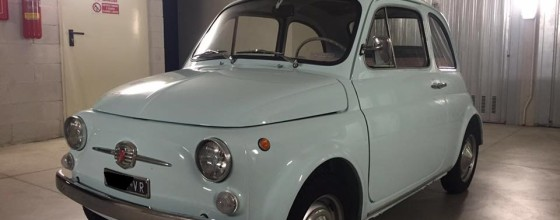 "Fiat 500 F (May 1965) ""8 Bolts"""