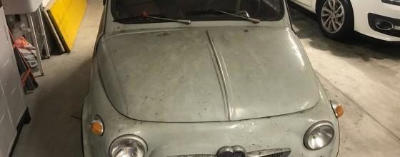 Steyr Puch Fiat 500 D (1958)