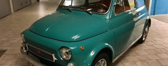 "Fiat 500 My Car Francis Lombardi (1969) ""Verde Malesia"""