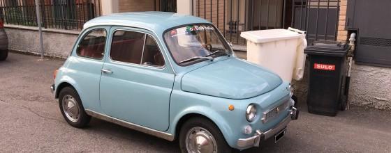 "Fiat 500 My Car Francis Lombardi (1969) ""Azzurro Stintino"""